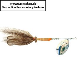 Farbe: SB Nickel Blade - Natural / Moose Tail