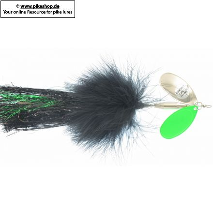 SW FC-29 Black / Flowage Green & Nickel