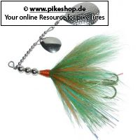 Bucktail-Spinnerbait - 13cm (5 Zoll)