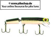 Muskie Stalker (jointed) - 15cm (6 Zoll)