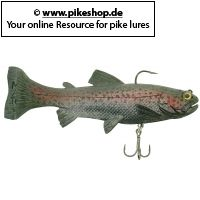 True Trout (Tri-Tail) - 17cm (7 Zoll)