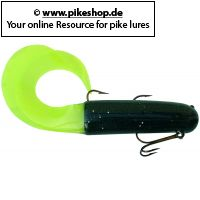 Twisted Tube (Double Single Hook & Treble Hook) - 35cm (14 Zoll)