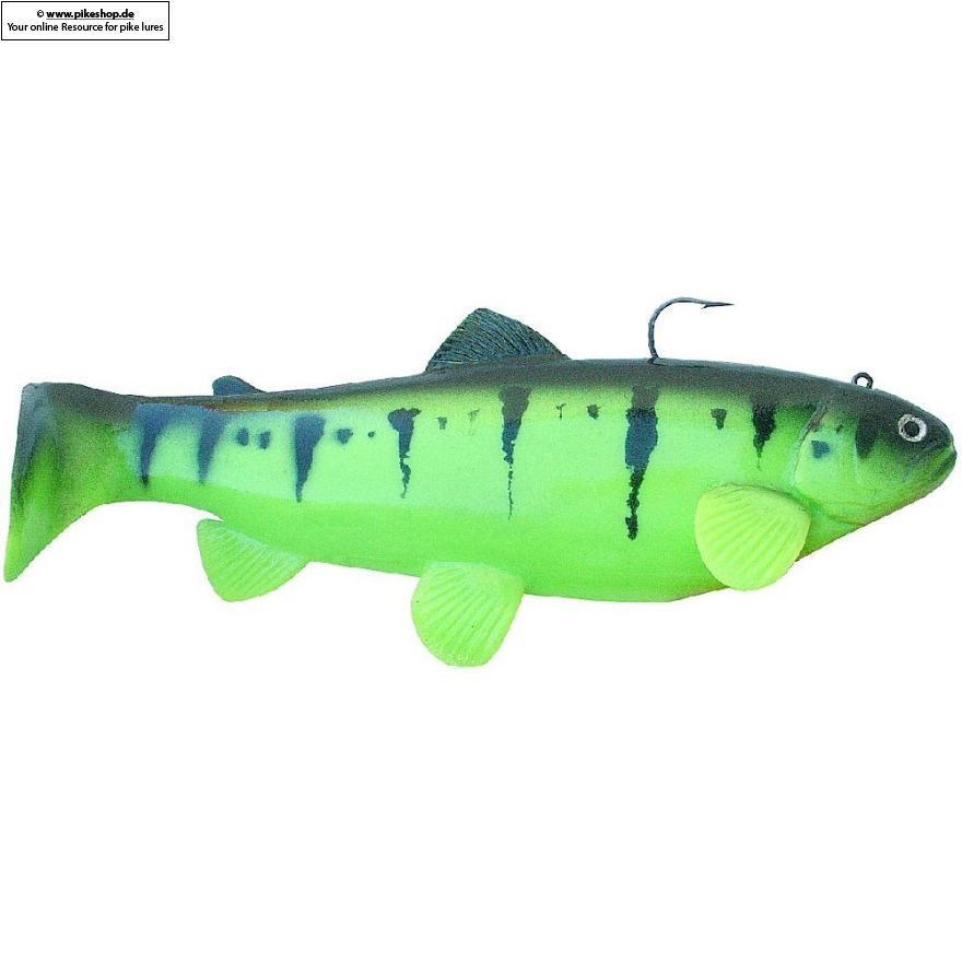 Boot Tail (Sinker) - 25cm (10 Zoll) - CA Chartreuse