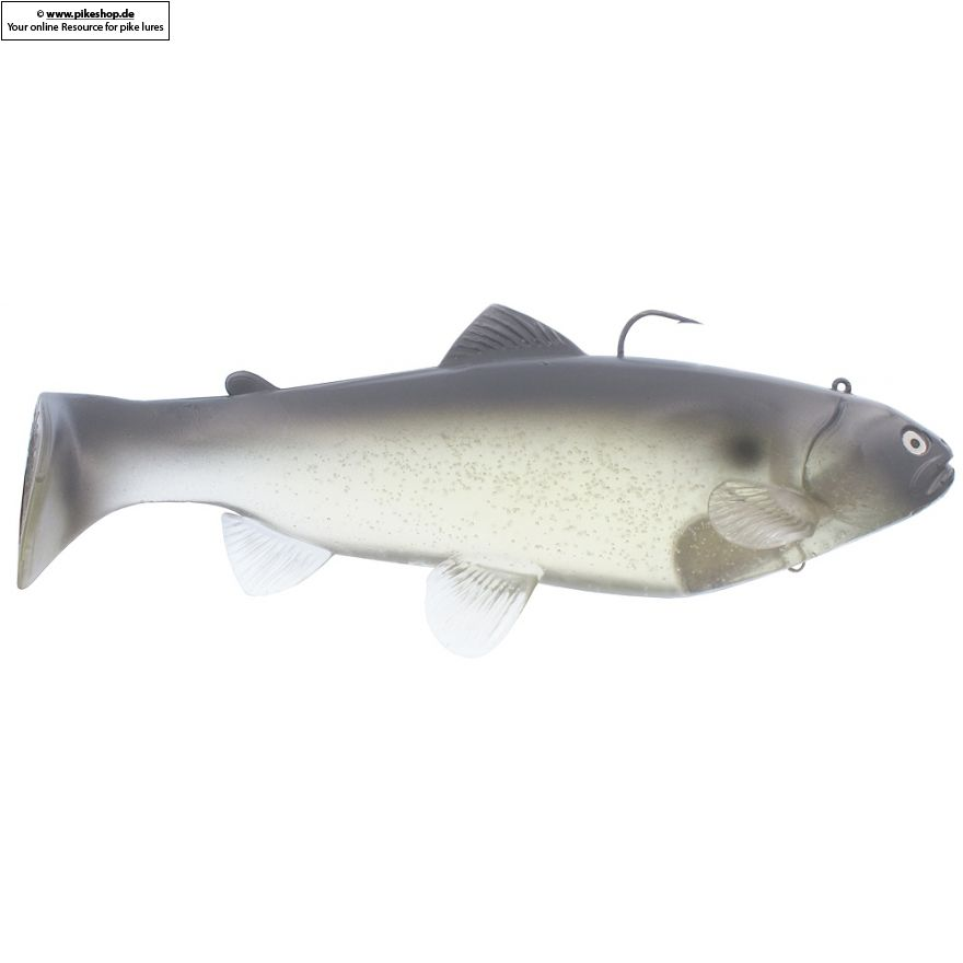 Boot Tail (Sinker) - 25cm (10 Zoll) - CA Ghost Blue Shad