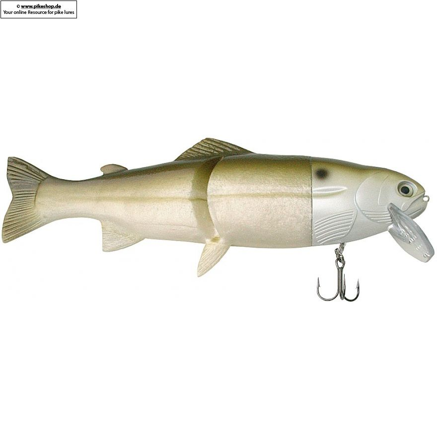 Hard Head (Floater) - 23cm (9 Zoll) - CA Green Shad