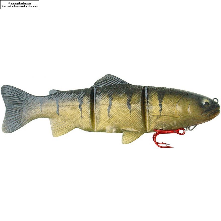 Platinum (Slow Sinker) - 20cm (8 Zoll) - CA Yellow Perch