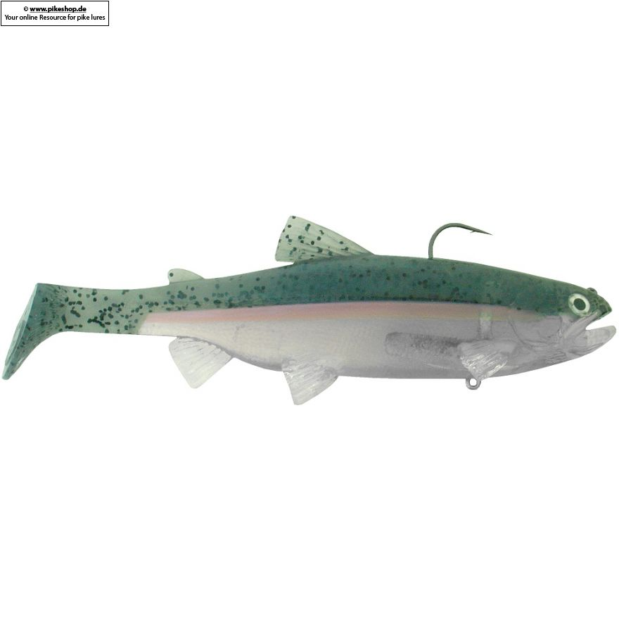 SKT Swimmer (Top Hook) - 23cm (9 Zoll) - RB Ghost Trout