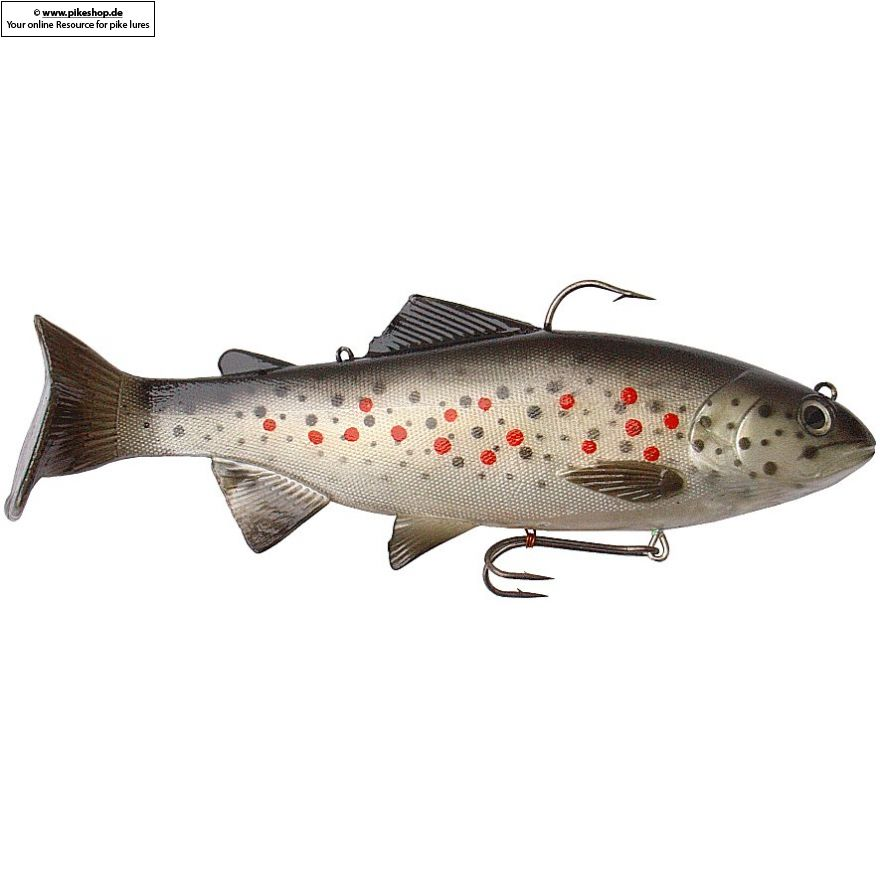 Bass Harasser (slow fall) - 20cm (8 Zoll) - RS Brown Trout