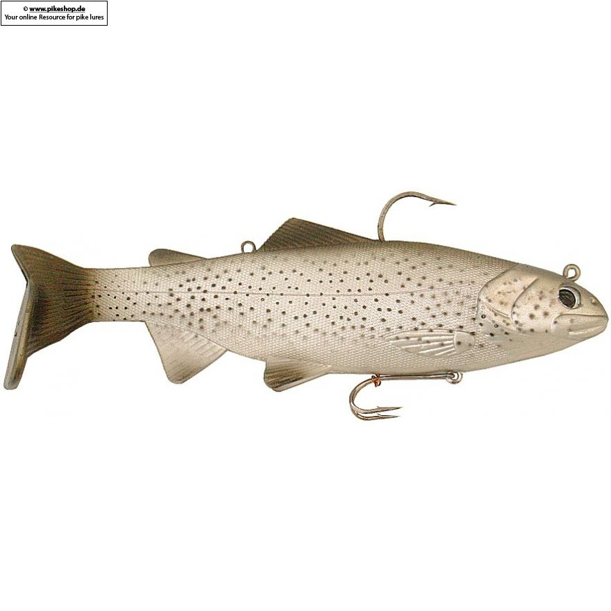 Bass Harasser (slow fall) - 20cm (8 Zoll) - RS California Trout