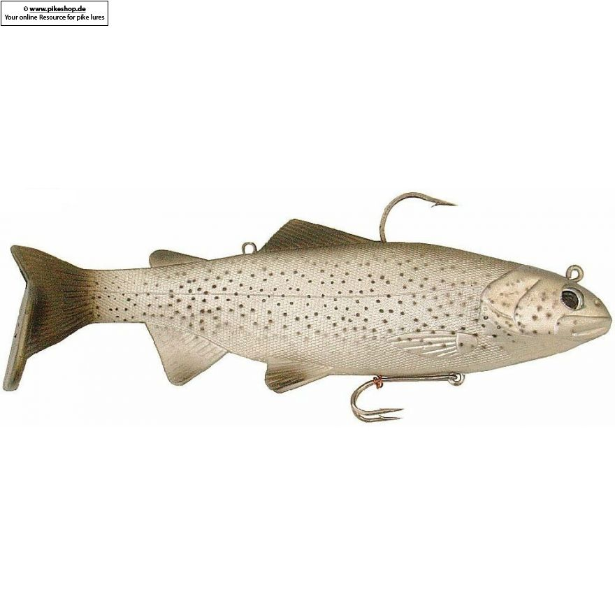 Bass Harasser (very slow fall) - 25cm (10 Zoll) - RS California Trout