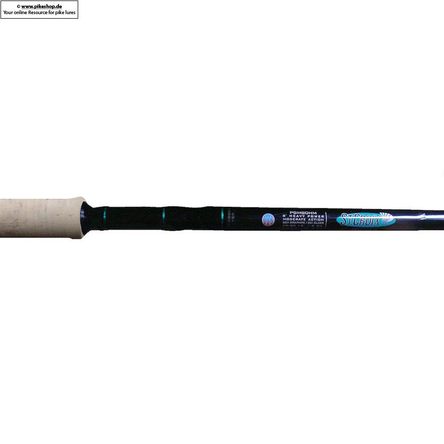 St. Croix - Premier Glass Musky Rod