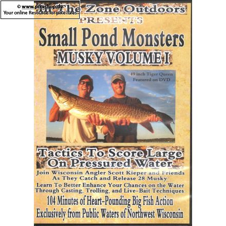 Small Pond Monsters