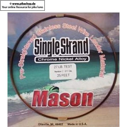 Mason - Single Strand Leader Wire