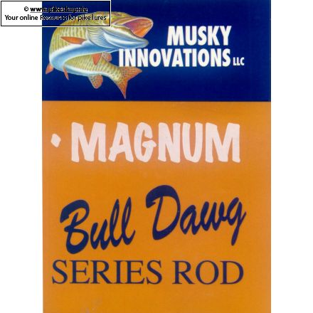 Hall Of Fame Bull Dawg Split Grip Rod - 1-teilig