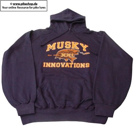 Musky Innovations - Hooded Collegiate Logo Sweatshirt