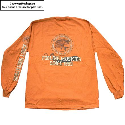 Musky Innovations - Special Collegiate Logo T-Shirt (Langarm)