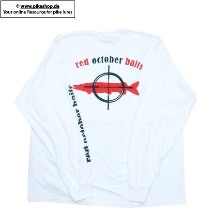 Red October Baits Langarm T-Shirt