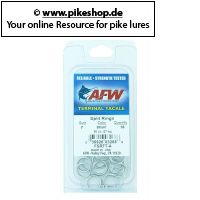 American Fishing Wire - Split Rings