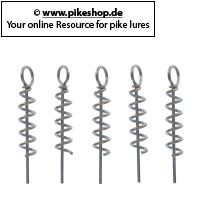 Pike Center Pin - 4,5cm (1,8 Zoll)