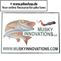 Musky Innovations - Aufkleber