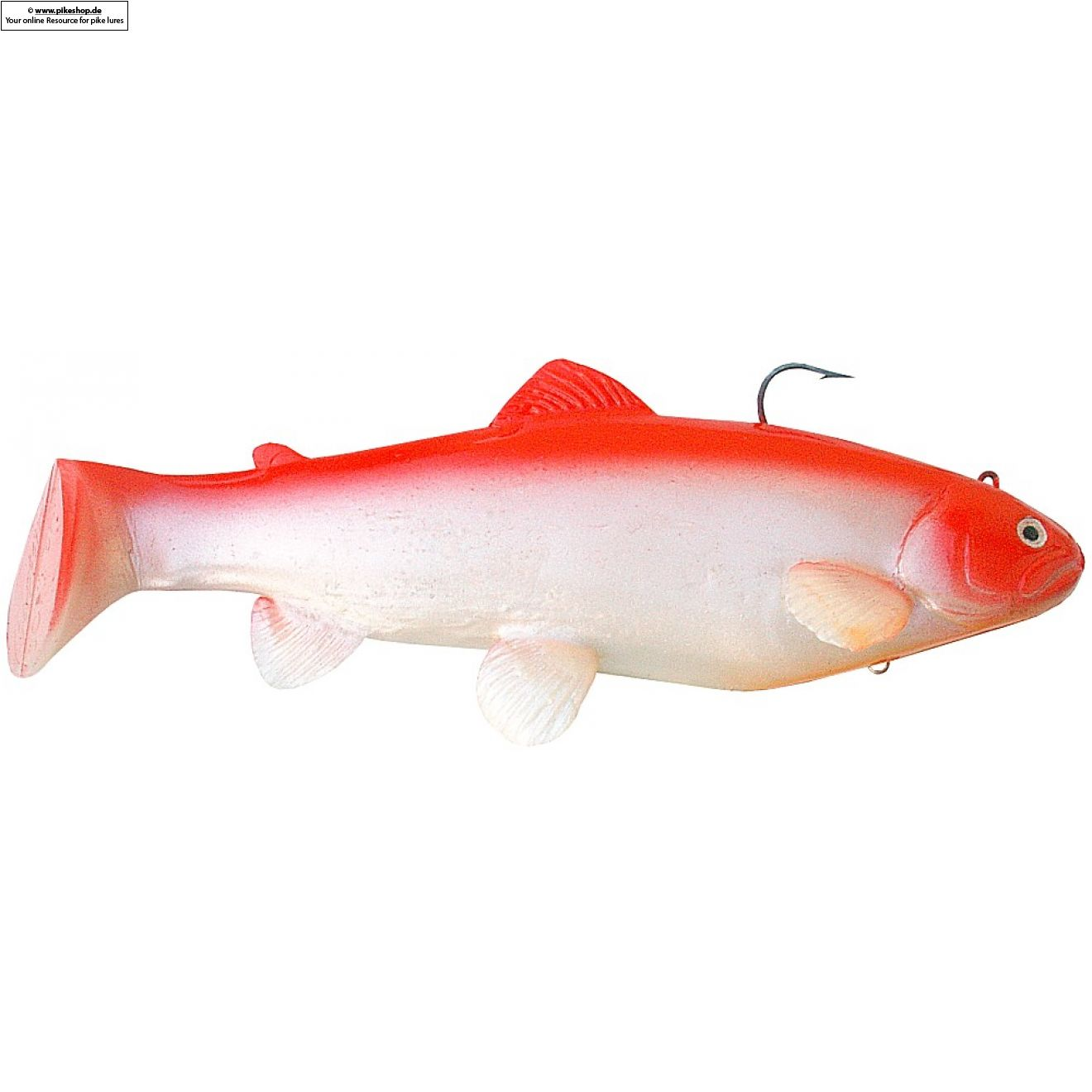 Boot Tail (Sinker) - 25cm (10 Zoll) - CA Red Shad