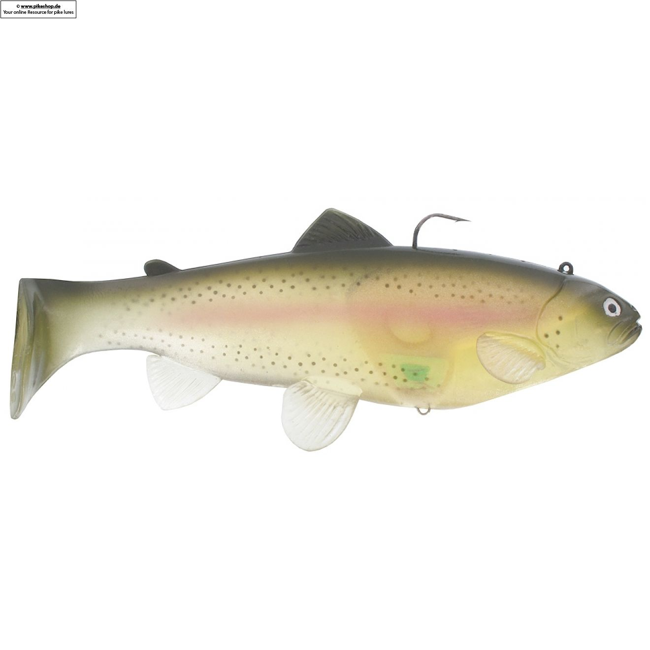 Boot Tail (Slow Sinker) - 25cm (10 Zoll) - CA Ghost Rainbow Trout