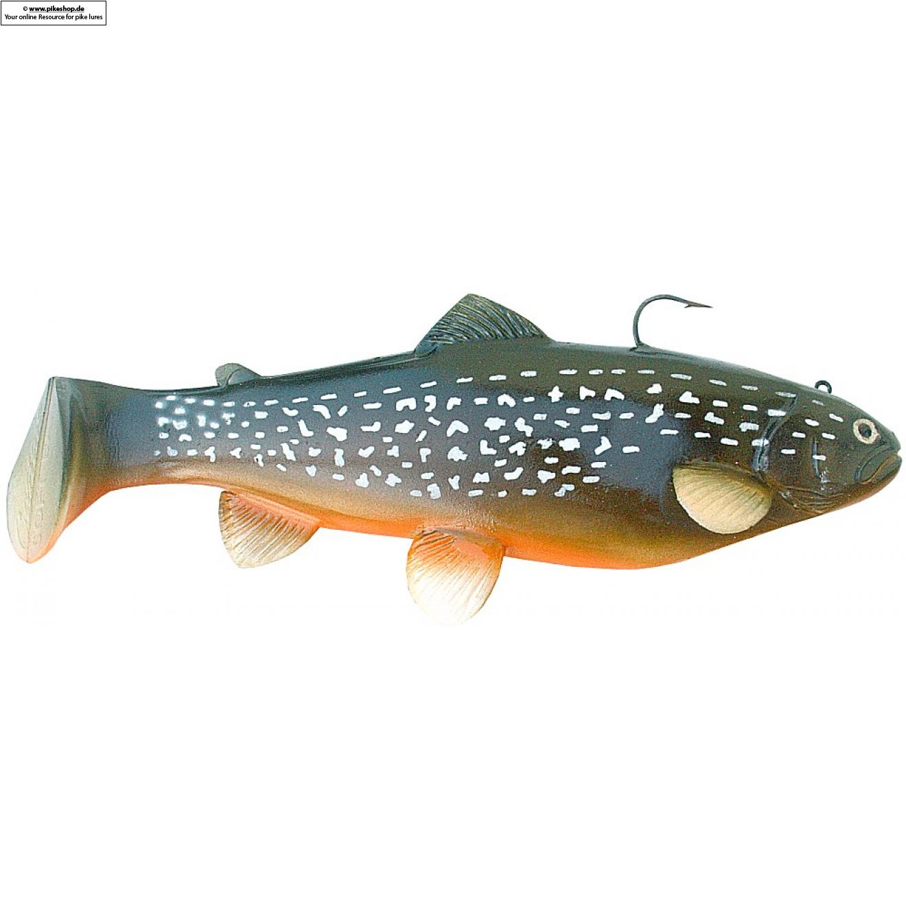 Boot Tail (Slow Sinker) - 25cm (10 Zoll) - CA Northern Pike