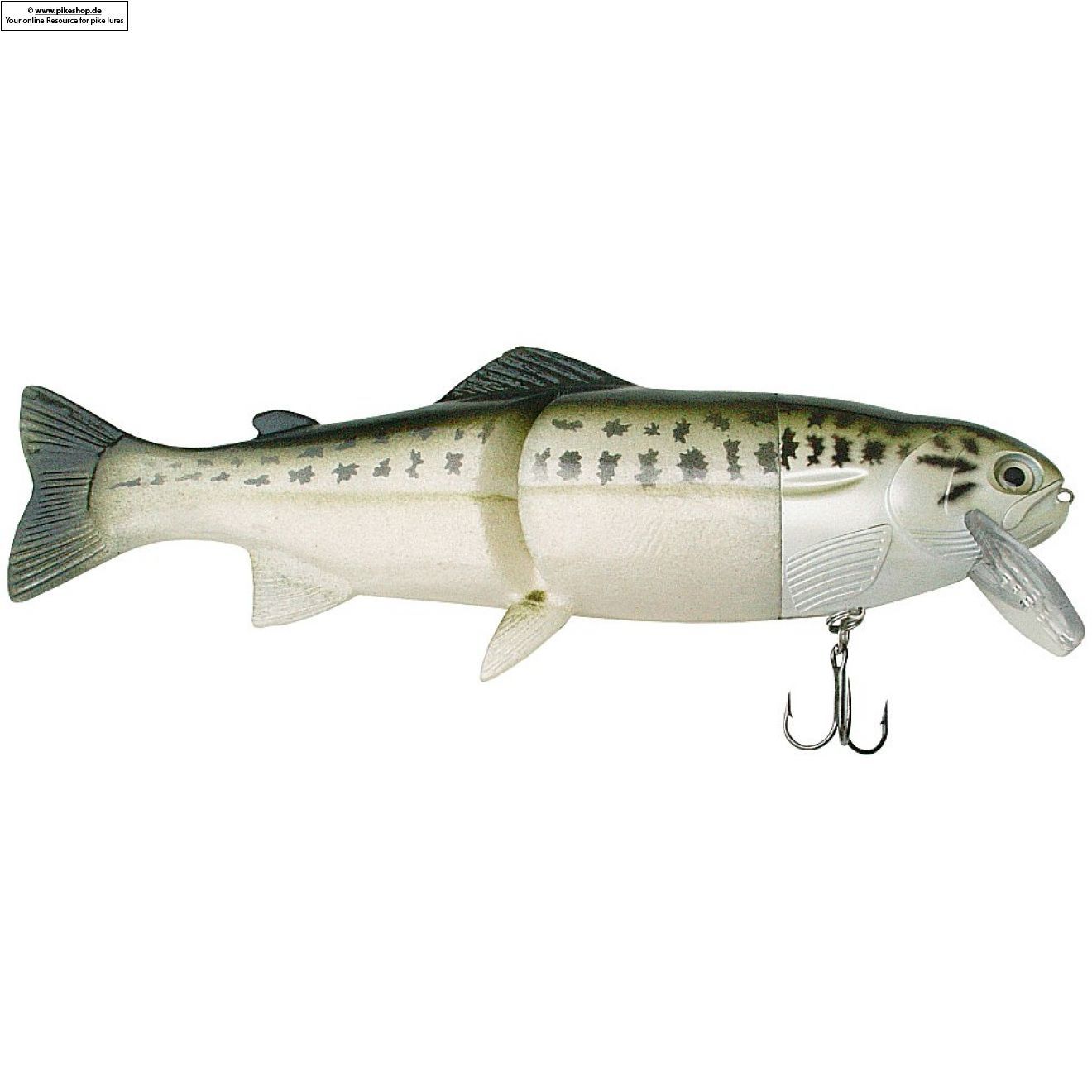 Hard Head (Floater) - 23cm (9 Zoll) - CA Baby Bass