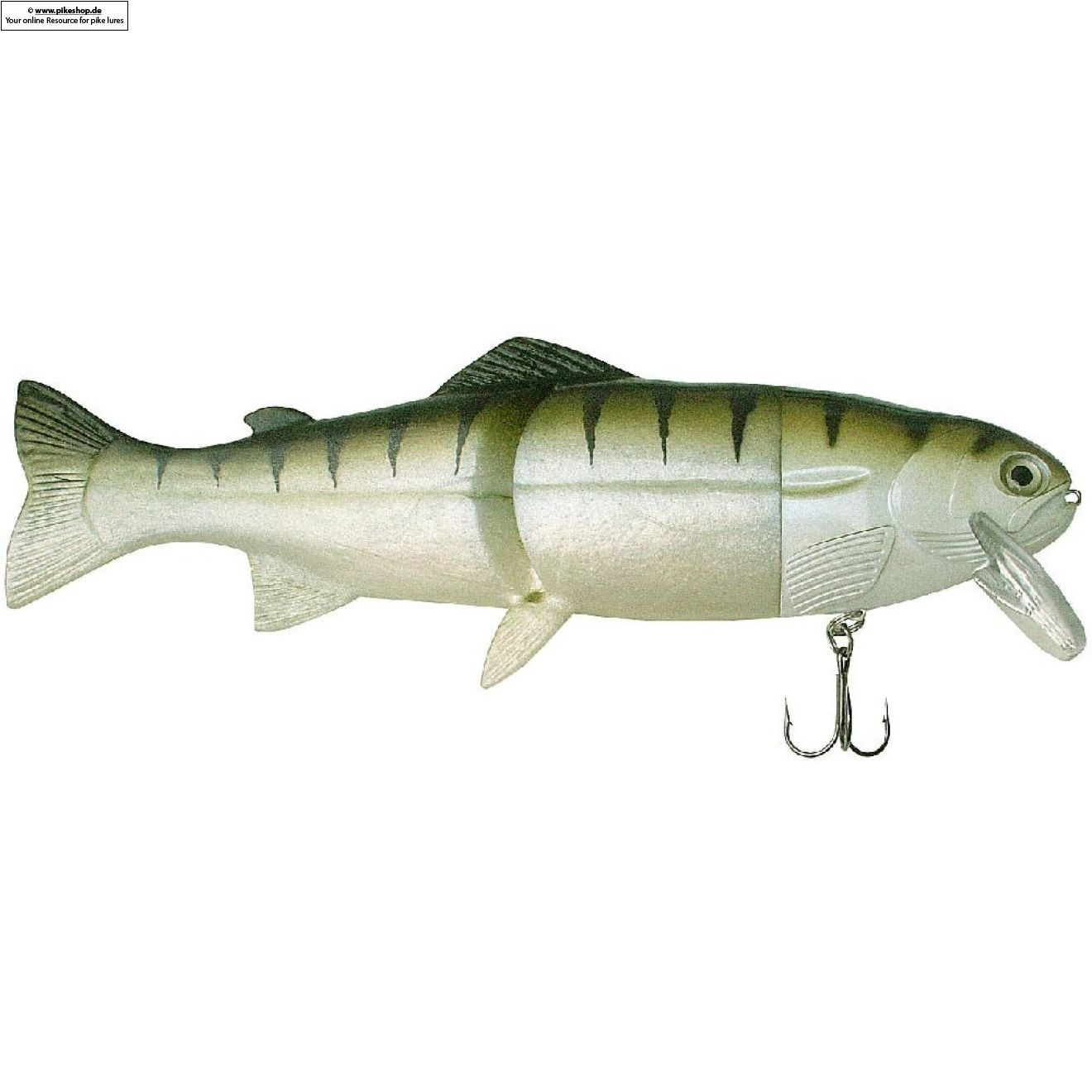 Hard Head (Floater) - 23cm (9 Zoll) - CA Zander
