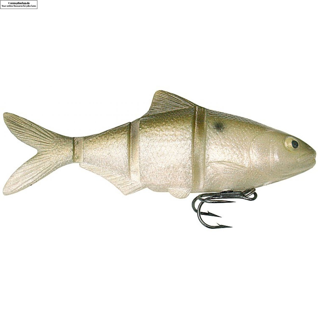 Catch22 (Slow Sinker) - 15cm (6 Zoll) - CA Threadfin Shad Green