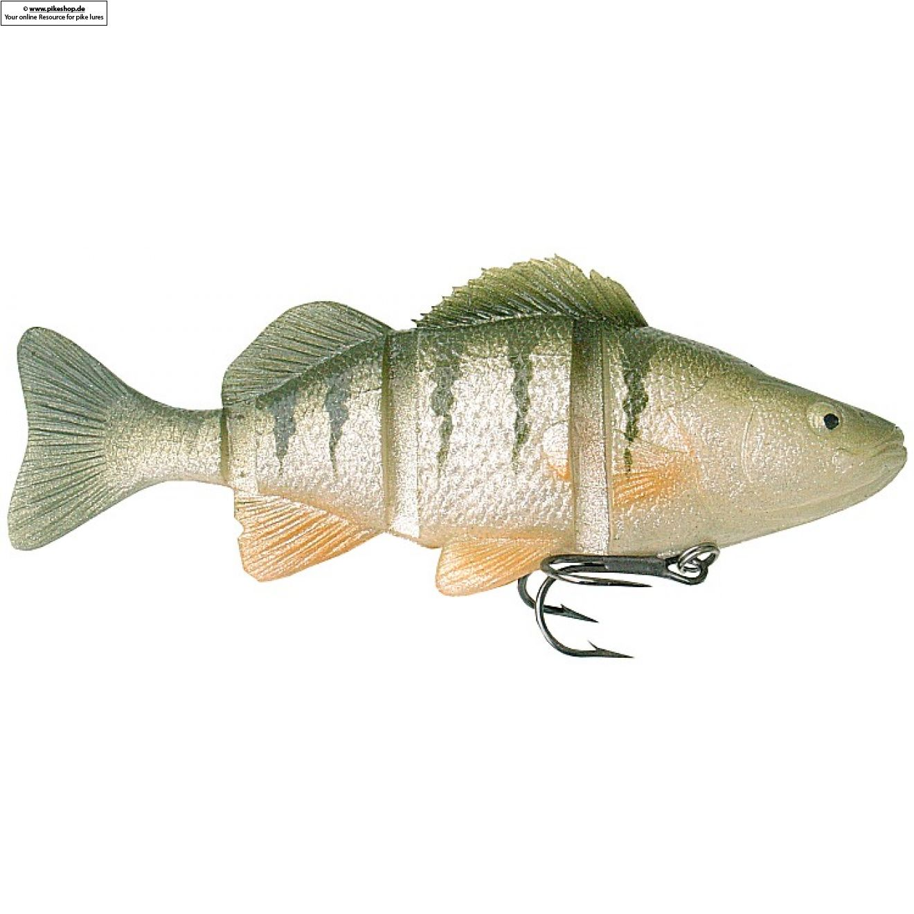 Catch22 (Slow Sinker) - 15cm (6 Zoll) - CA Yellow Perch
