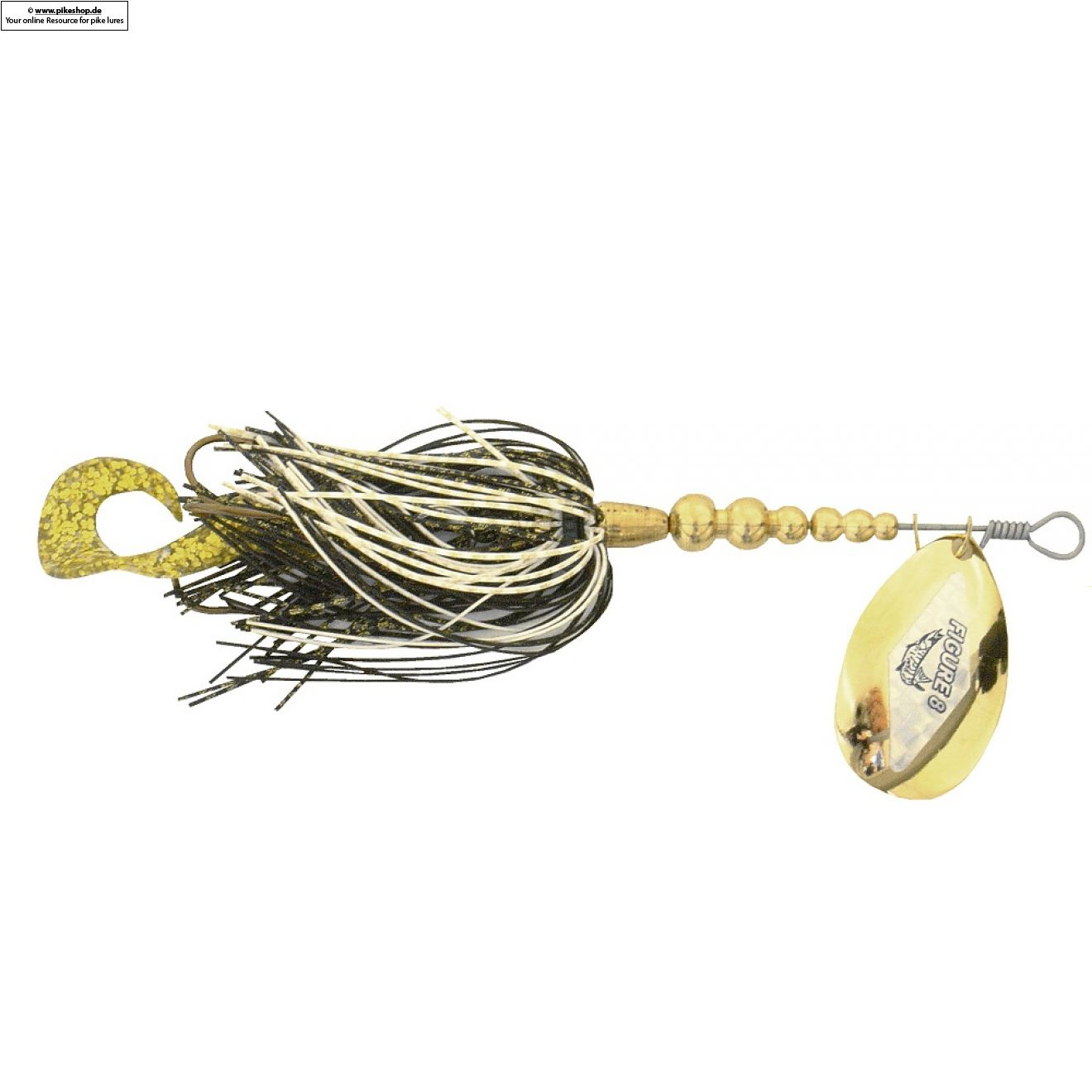 Stalker - 15cm (6 Zoll) - F8 Walleye / Gold