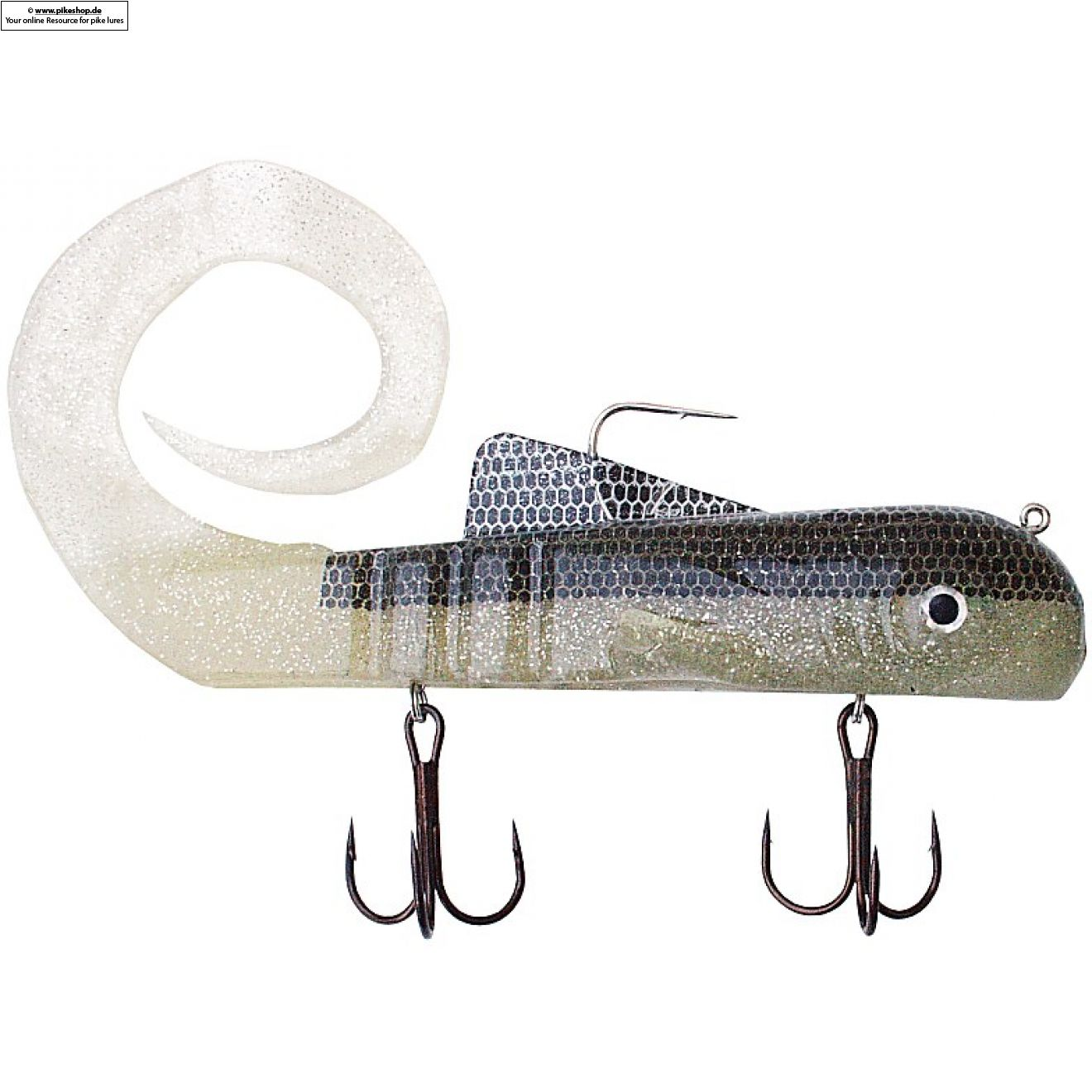 Custom Regular PRO Dawg - 23cm (9 Zoll) - MI Natural Bait Fish