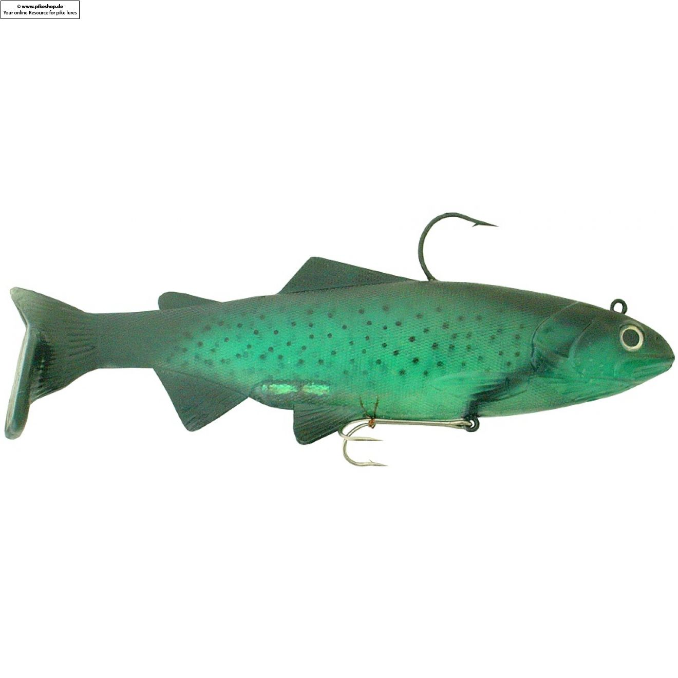 Bass Harasser (very slow fall) - 25cm (10 Zoll) - RS Green Herring