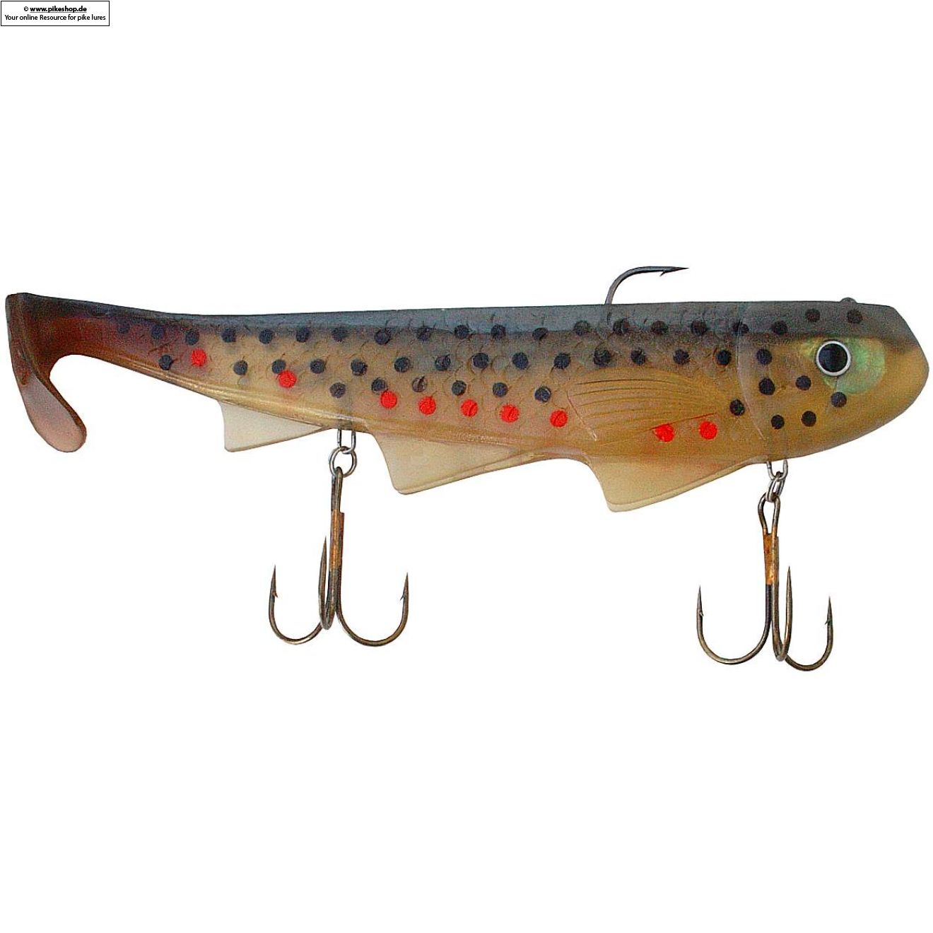 Shimmy Shad - 30cm (12 Zoll) - RS Brown Trout