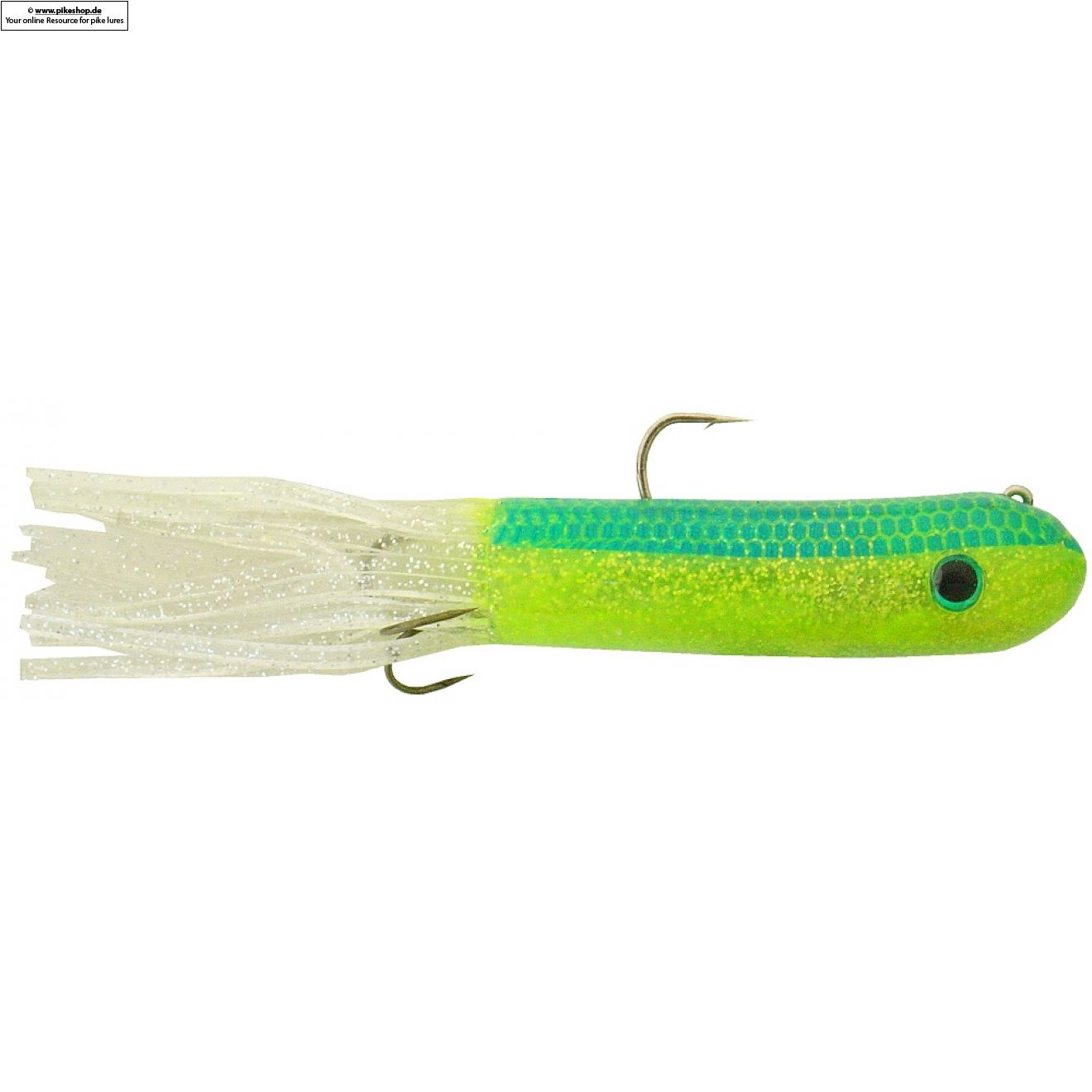 Tube JR - 20cm (8 Zoll) - RS Chartreuse Shiner