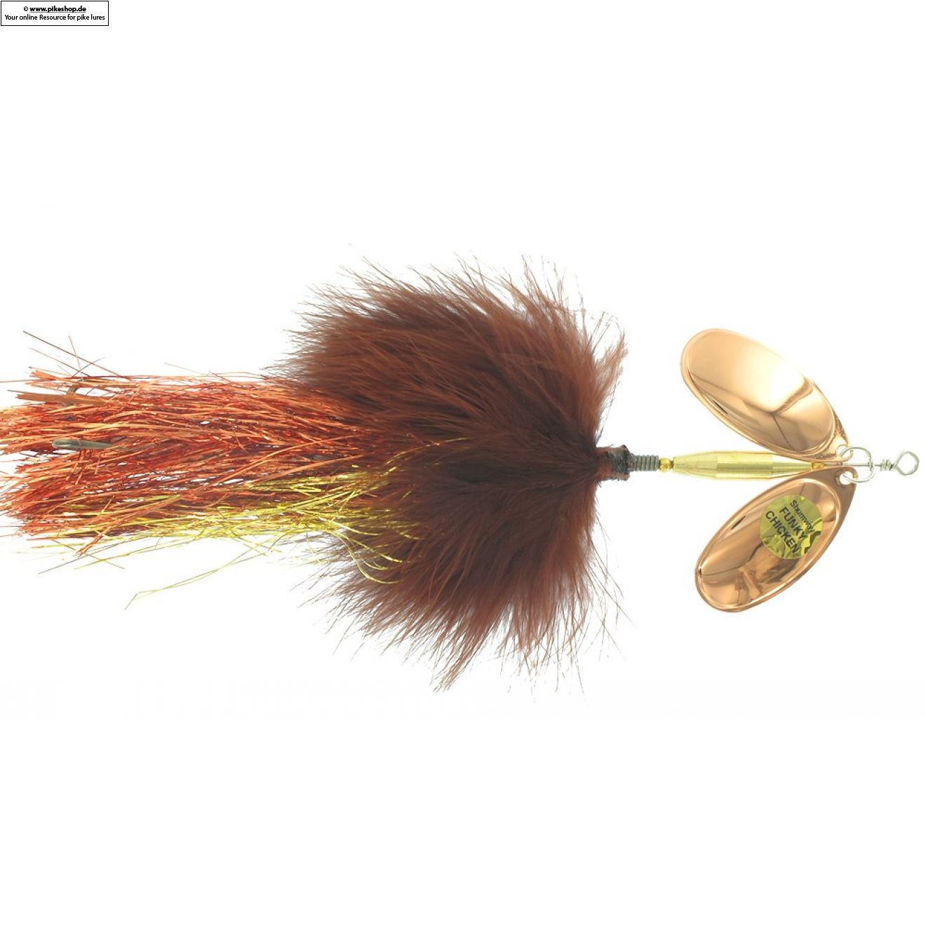 Funky Chicken - 20cm (8 Zoll) - SW FC-27 Brown / Copper & Copper